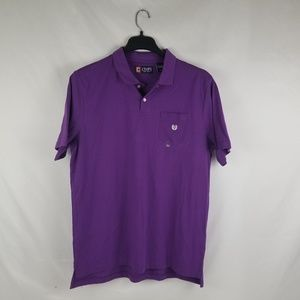 NWT CHAPS MEN'S POLO Shirt Size Large
